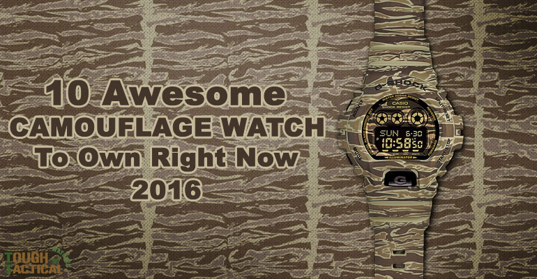 10 Awesome Camouflage Watch To Own Right Now