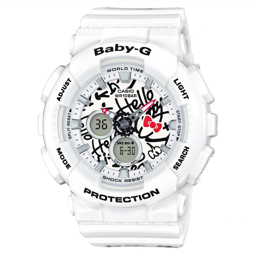 Baby-G Hello Kitty BA-120KT-7A_JR_DR