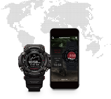 G-Shock GPR-B1000-1 connect apps