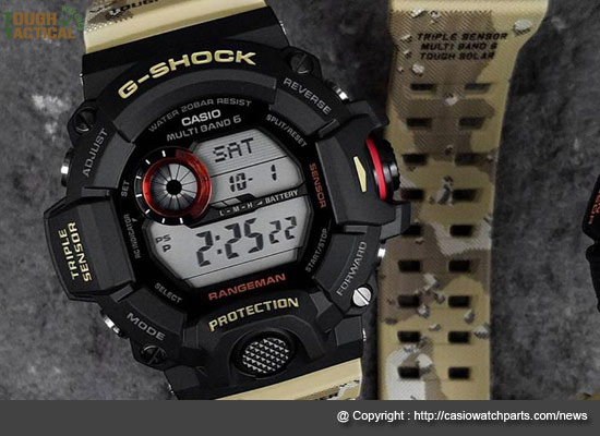 watch a2e91 e4cf5 G-Shock GW-9400 Rangeman Military Watches For Urban Survival