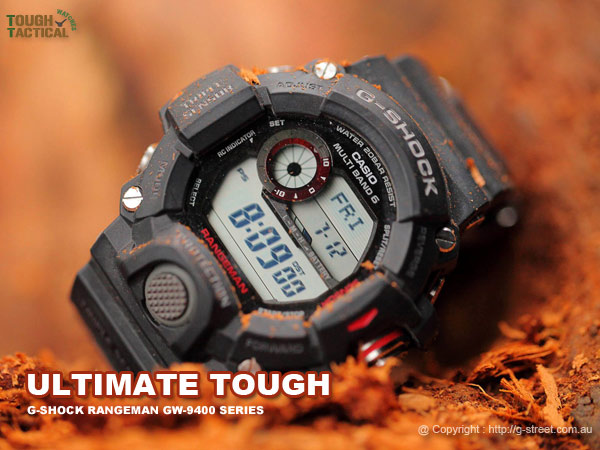Toughest Watches-G-Shock-Rangeman-Ultimate