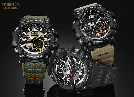 g shock triple sensor specifications
