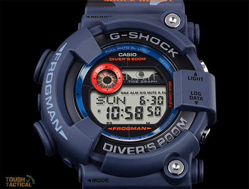 G-Shock GF-8250CM look tougher with blue camo.