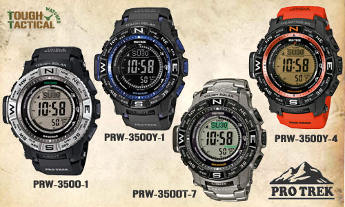 new Protrek PRW-3500 series