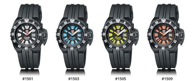Luminox-Deep-Dive-1500-complete-series