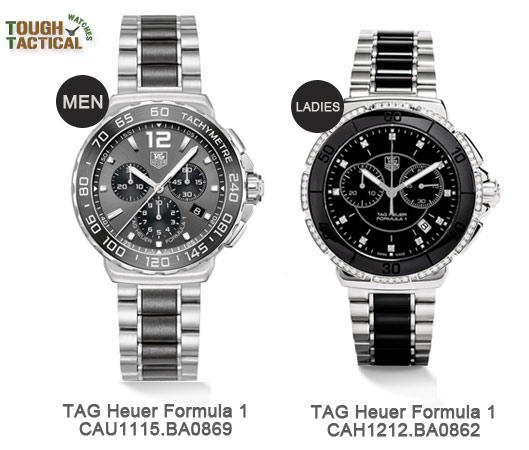 Matching-pair-couple-TAG HEUER FORMULA 1