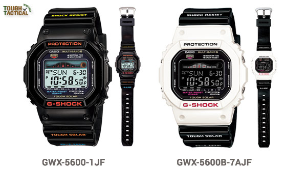 Old-G-Shock-G-Lide-GWX-5600-1JF and GWX-5600B