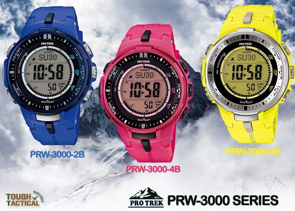 Protrek-PRW-3000-color-seri