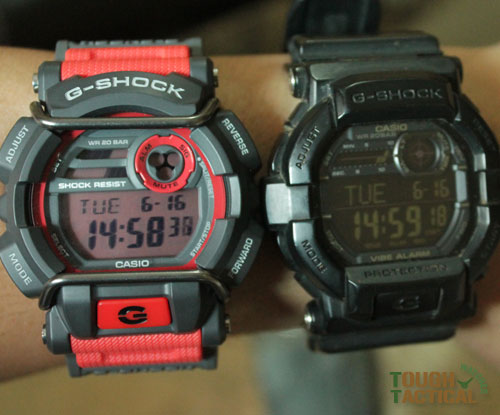 Red G-Shock GD-400-4
