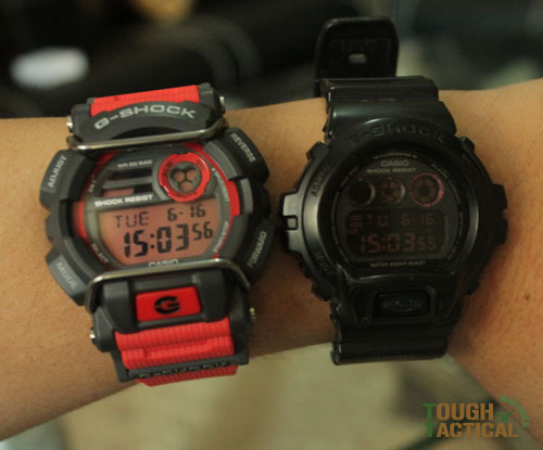 Red G-Shock GD-400-4_13