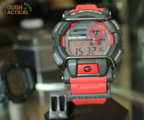 Red G-Shock GD-400-4_16