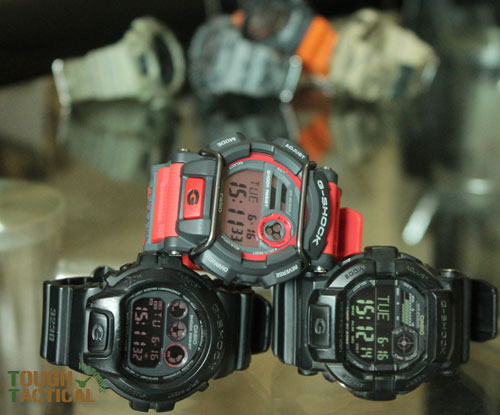 Red G-Shock GD-400-4_9