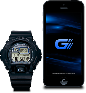 G-Shock Bluetooth with Iphone