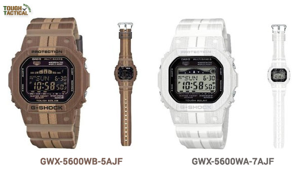 new-g-shock-g-lide-GWX-5600WA-7JF and GWX-5600WB-5JF