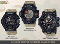 Don't Let The Desert Camo Fool You – The New G-Shock Master In Desert Camouflage Series