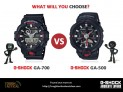 Breaking Down The G-Shock GA-700 and GA-500 Series Watches