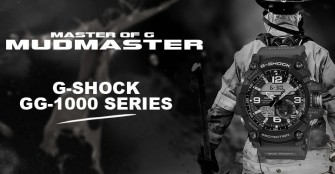 The New G-Shock GG-1000 Mudmaster – Powered Up With Twin Sensor