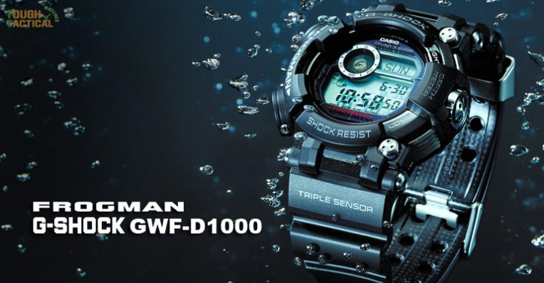 New Generation G-Shock Frogman GWF-D1000 Series – Goes Deeper Into The Sea